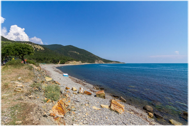 пляжи Малого Утриша
