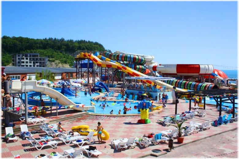 аквапарк в Ольгинке