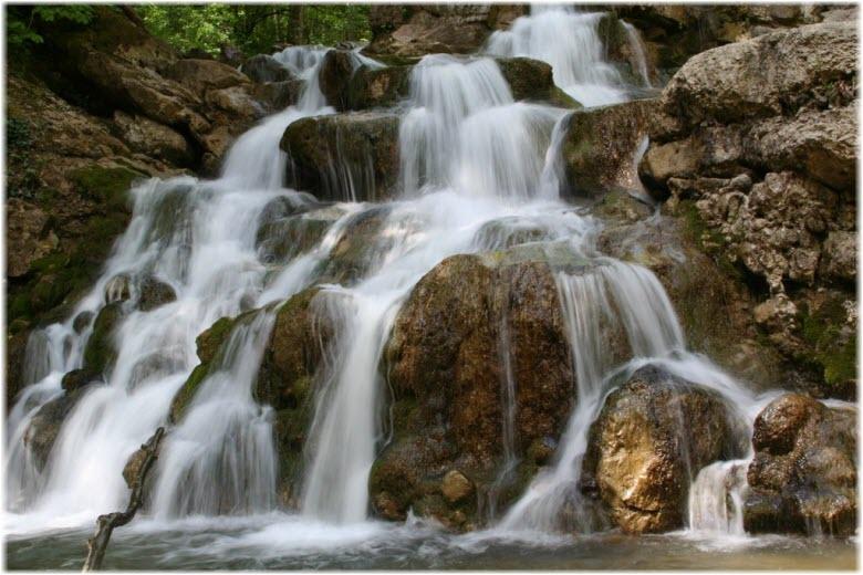 фото Аюкских водопадов