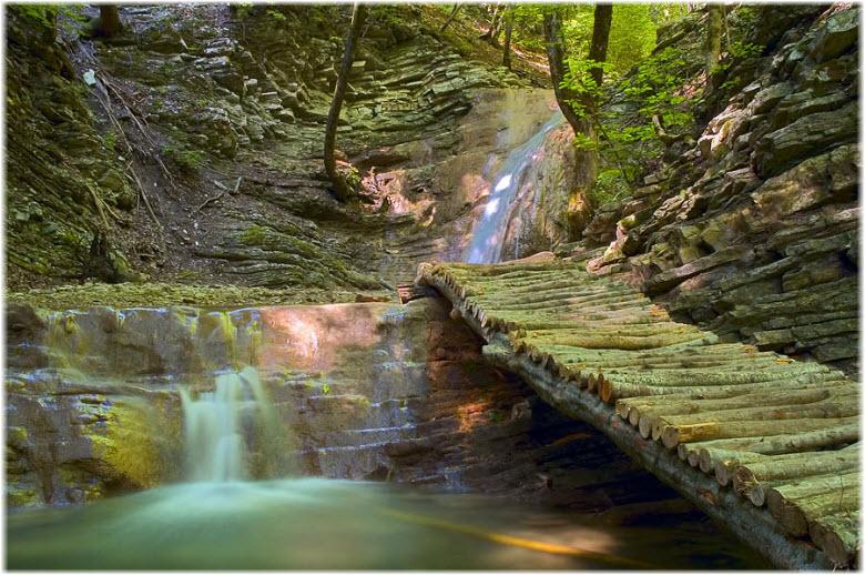 фото Тенгинских водопадов