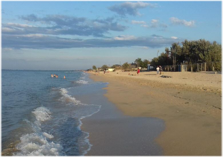 пляж Гидростроитель