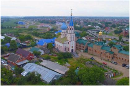 Свято-Духов монастырь в Тимашевске