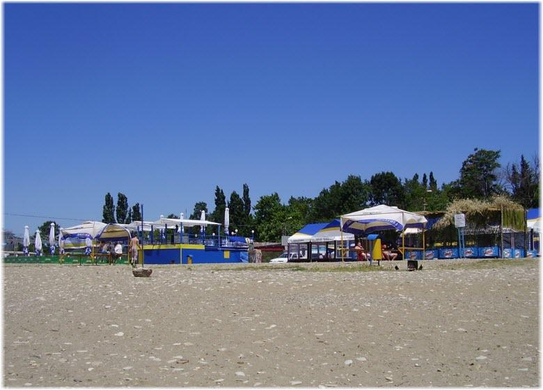 фото Центрального пляжа Туапсе