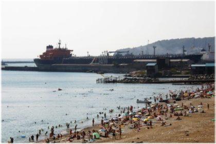 Городской пляж Туапсе