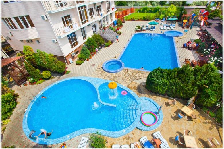 гостиница Марина в Витязево