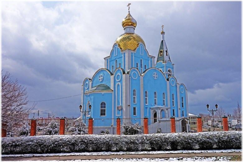 Храм Ксении Петербургской в Тихорецке
