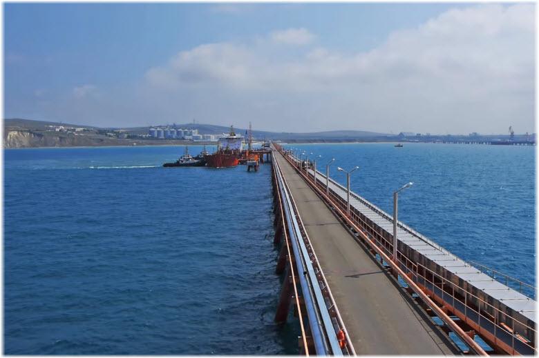 морской порт Тамань
