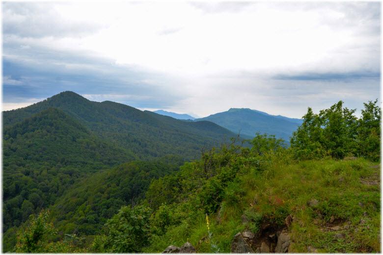 пейзажи горы