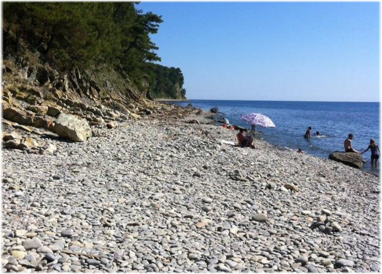 пляж Агрия