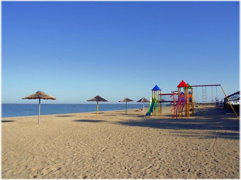 пляж Казачий берег