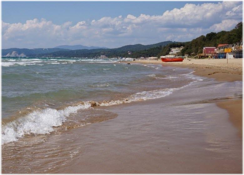 пляж Орленок