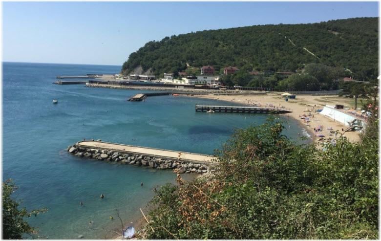 пляж Пятого участка