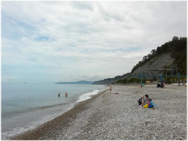 пляж Юбилейный