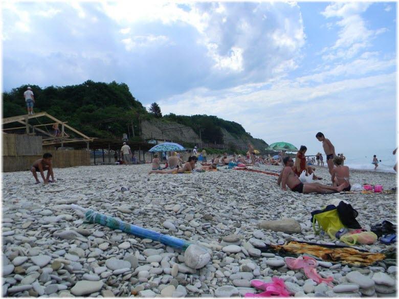 Центральный пляж Шепси