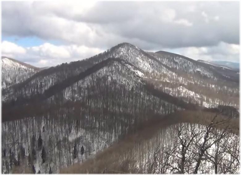 весенние виды с горы Два Брата