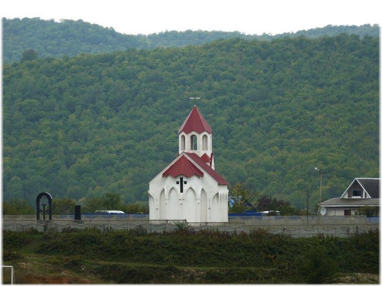 Армянская церковь в Тенгинке