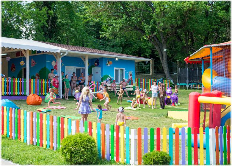 детский городок аквапарка