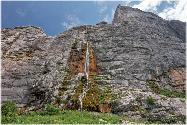 фото Пшехского водопада