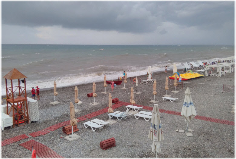 пляж Багратион