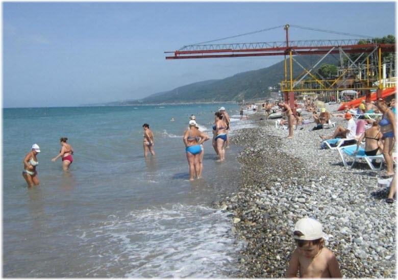 пляж Бирюза