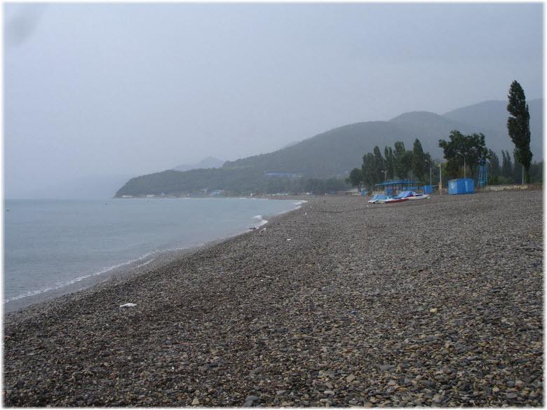 пляж лагеря Криница