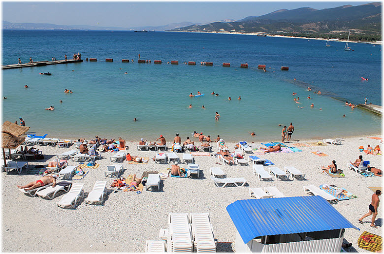 пляж Смена в Кабардинке