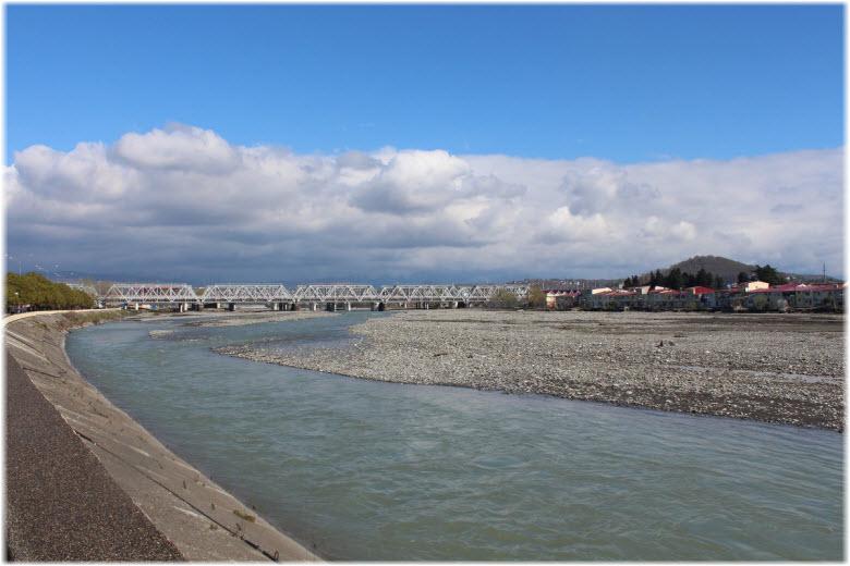 пляжи Мзымты
