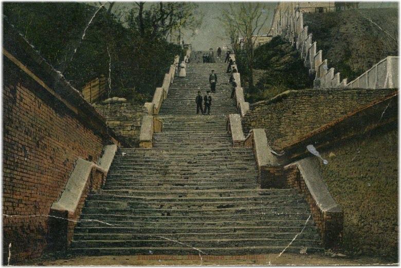 старые фото Каменной лестницы