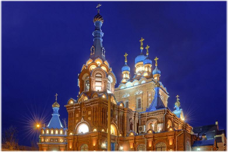 Свято-Георгиевский храм в Краснодаре