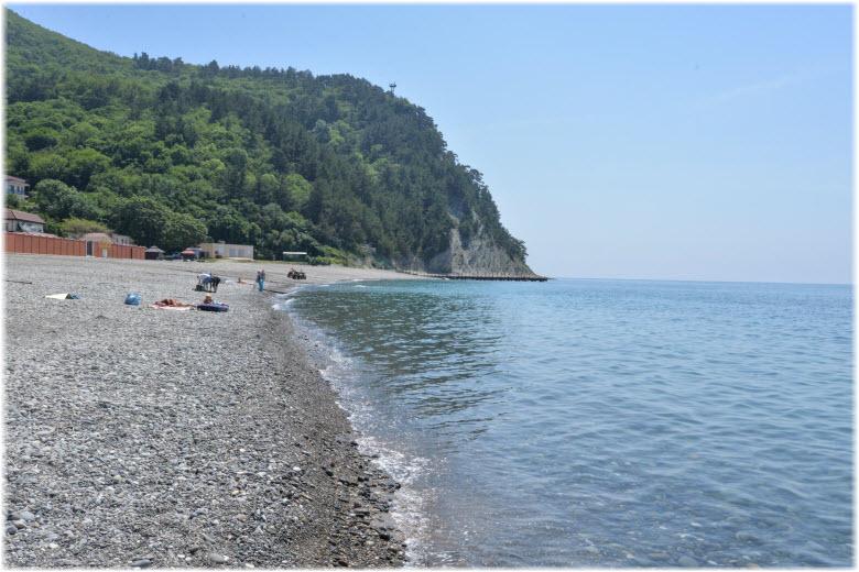 Центральный пляж Прасковеевки