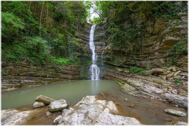 Дзыхринский водопад