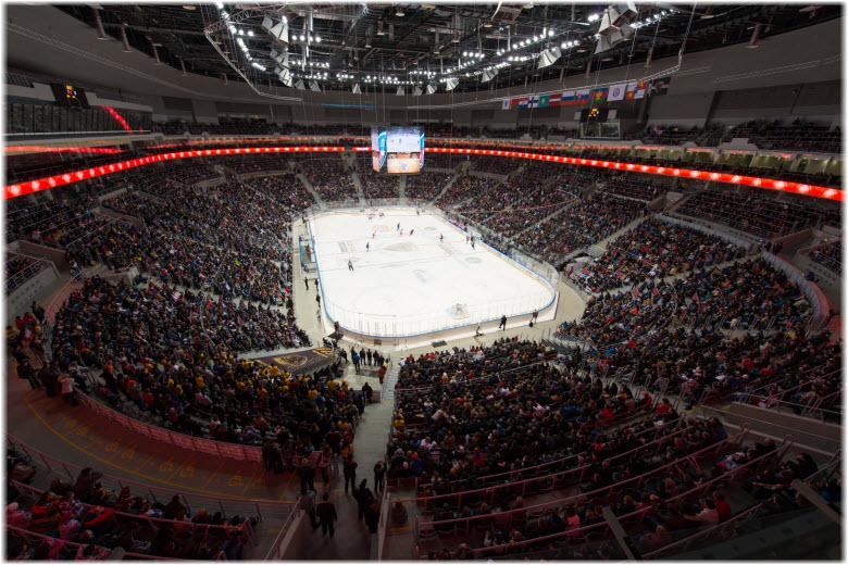 фото внутри арены