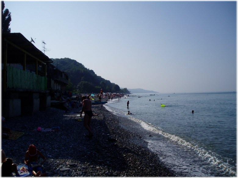 пляж Искра