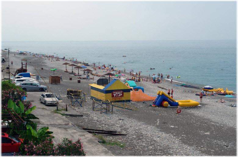берег моря у Волконки