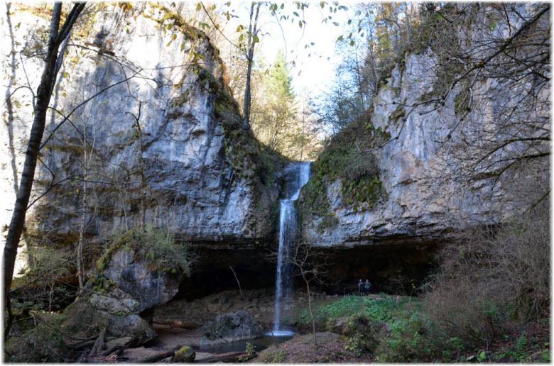 Школьный водопад