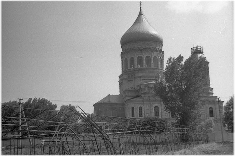 старое фото церкви