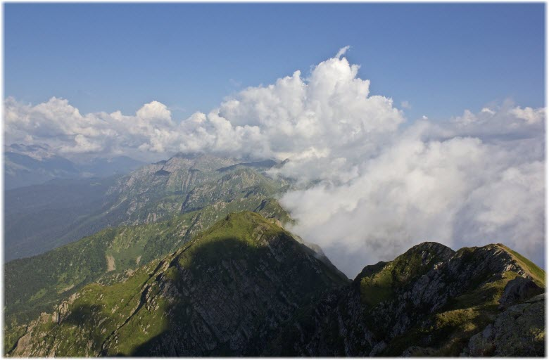 виды горы с высоты