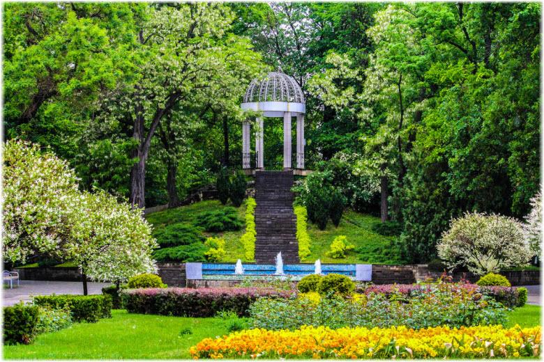 Городской сад Краснодара