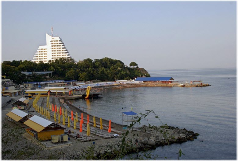 пляж Малая бухта