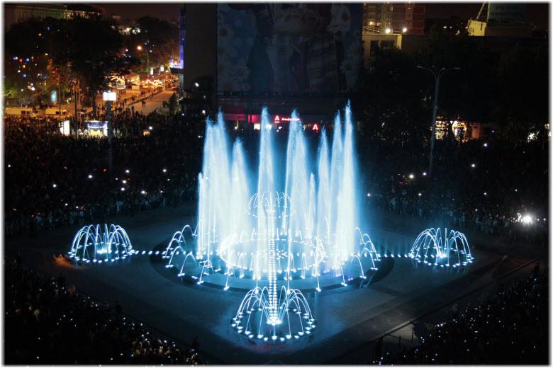 фонтан Театральный в Краснодаре