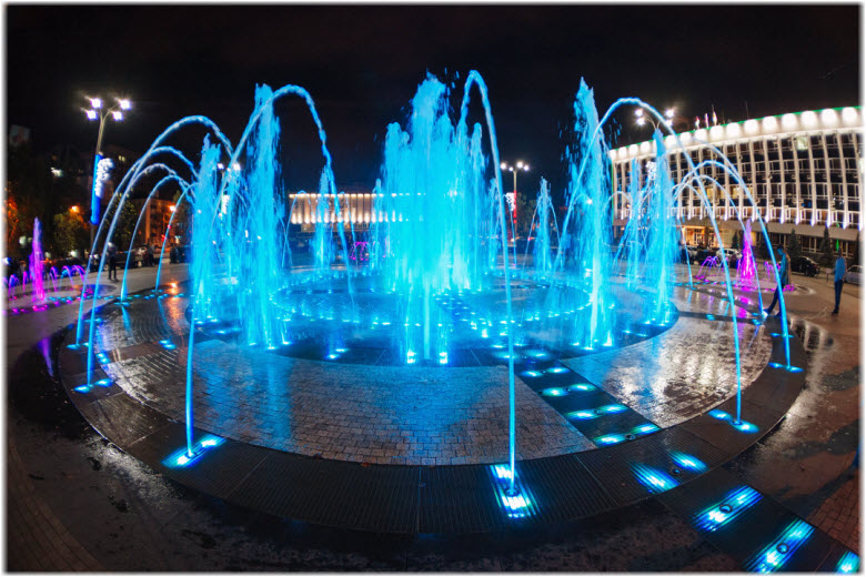 фото фонтана вблизи