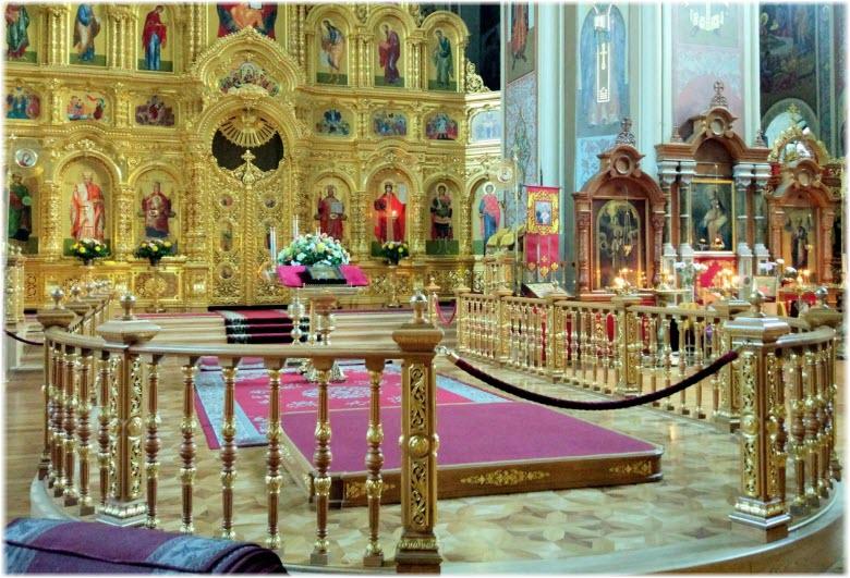 фото внутри собора святой Екатерины