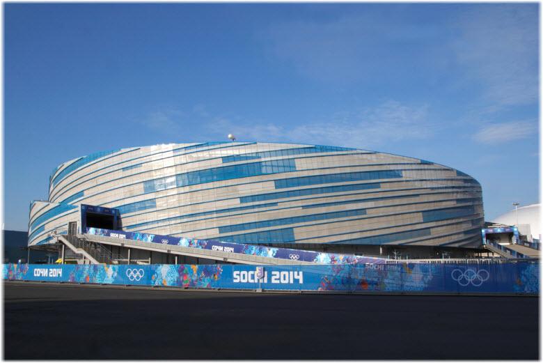 Ледовая арена Шайба в Адлере