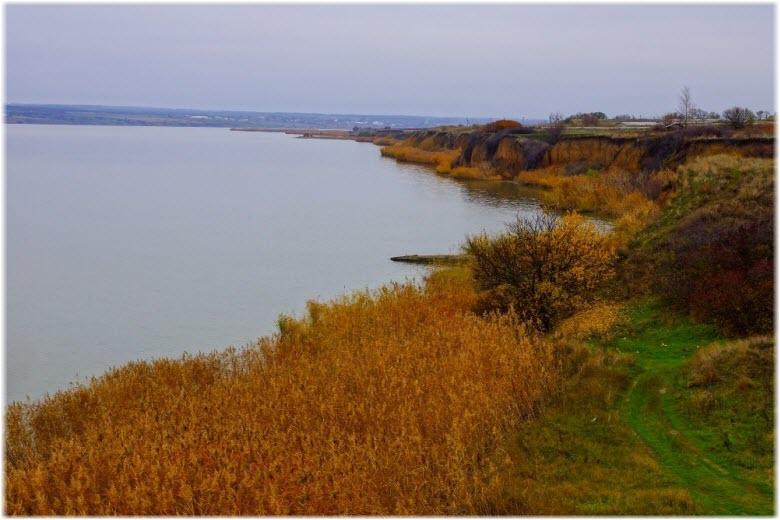 осень на берегах Миусского лимана