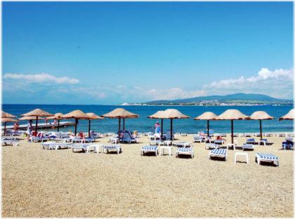пляжи на Толстом мысу