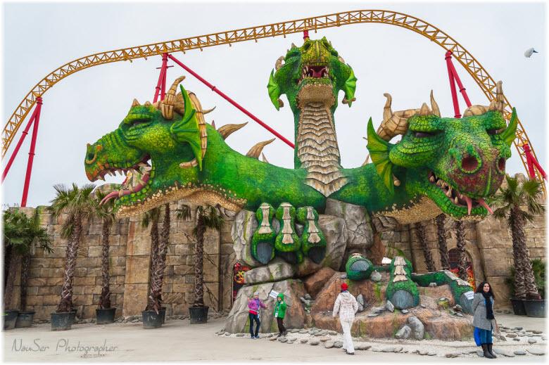 Змей-Горыныч в Сочи-парке