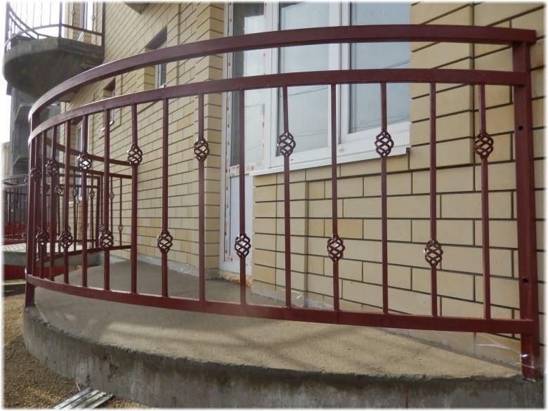 балконы в мини-гостинице Лилия