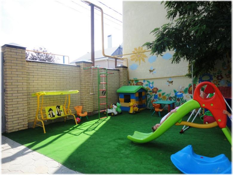 детская площадка мини-отеля