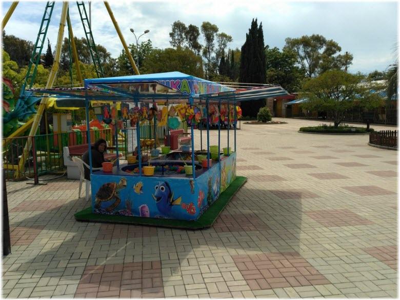 детские угощения в Адлерском парке аттракционов