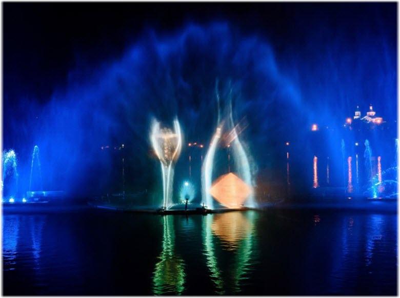 фото фонтана-бутылки